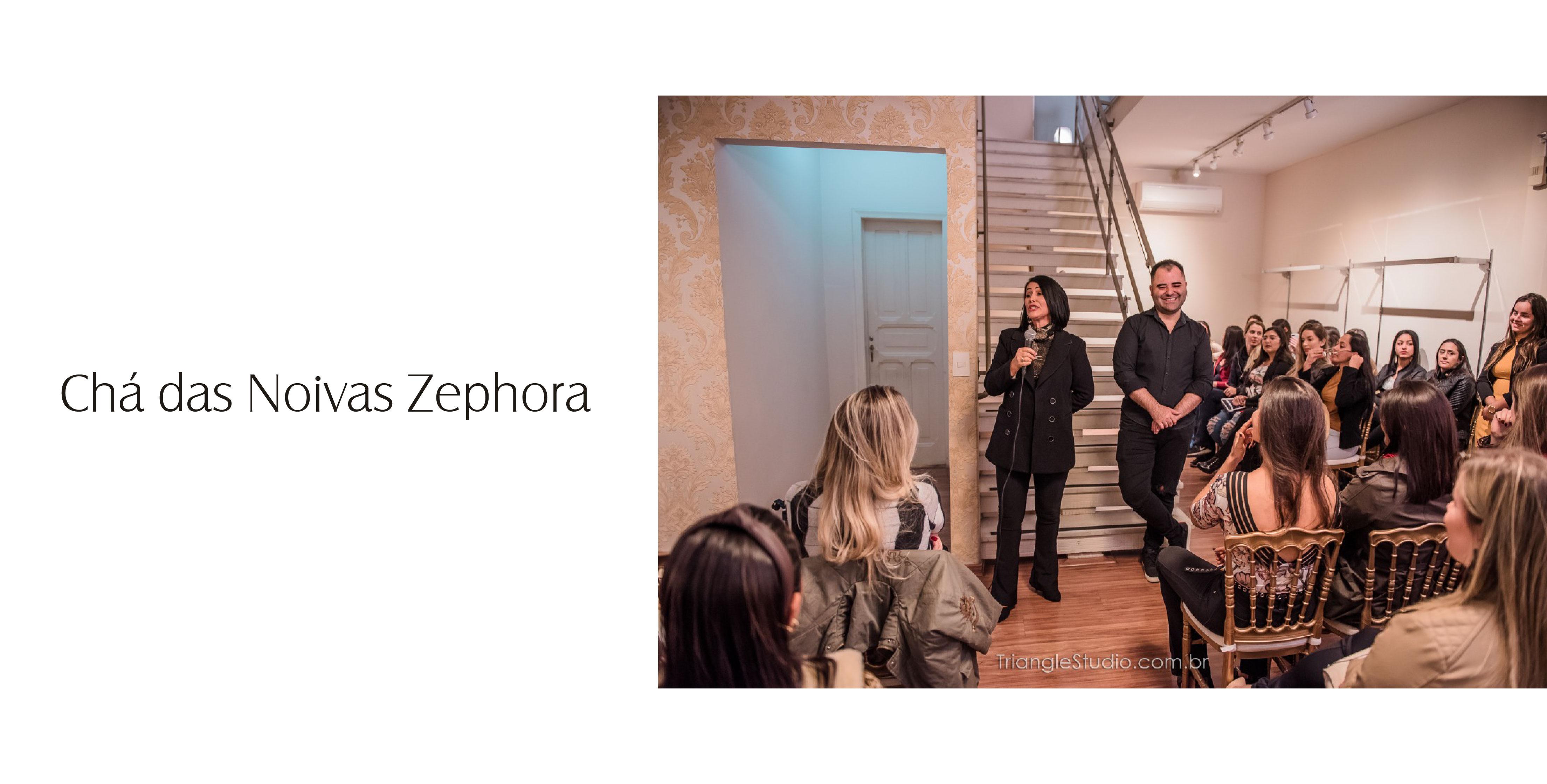 Cha das noivas Zephora 2019
