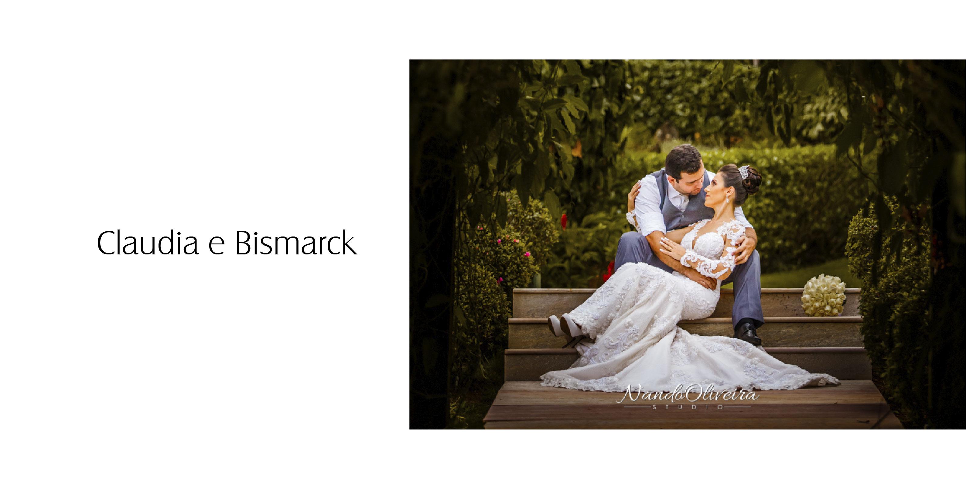 claudia e bismarck foto nando oliveira