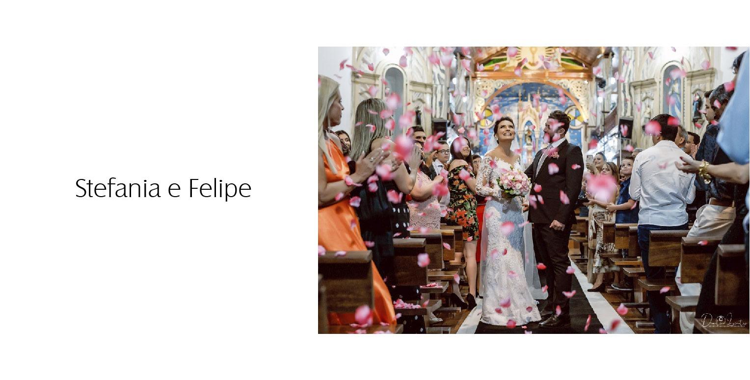 casamento na Igreja Matriz de São Gonçalo de Stefania e Felipe - Vestido Zephora Linha Premium - Foto Demetrio Laurentys