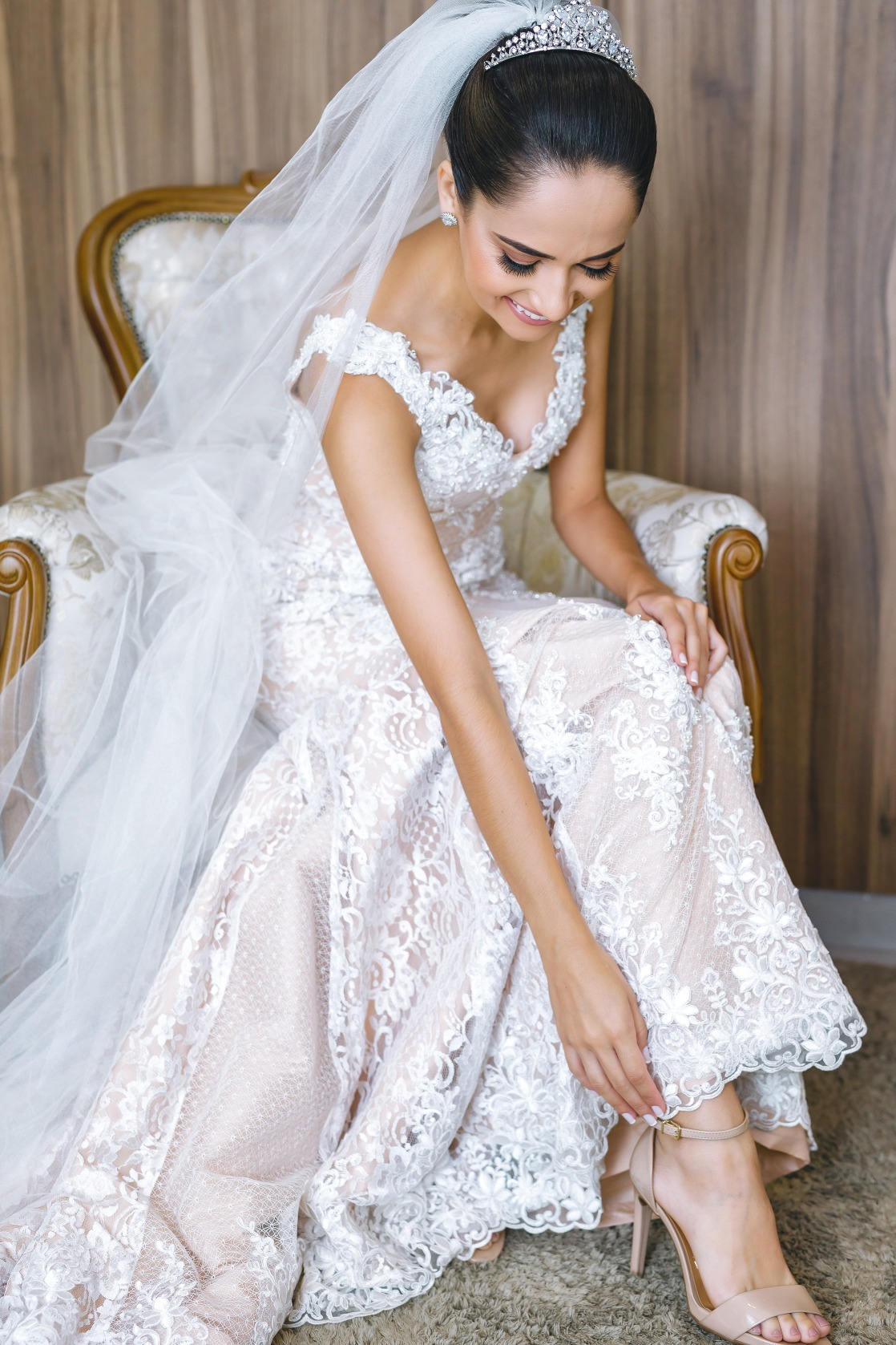 casamento em Pará de Minas - Francielle e DenisFoto Demétrio Laurentys - Vestido Zephora Linha Premium