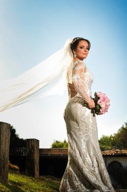 casamento na Paróquia São Cristóvão em Divinópolis de Ariana e Eduardo Foto Studio Leco Reis Vestido Zephora Alta Costura