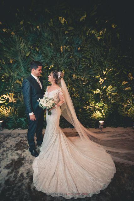Casamento em Divinópolis Santuário Santo Antônio - Leticia e Tiago - Vestido Zephora Linha Premium - Foto Pedro Bargas