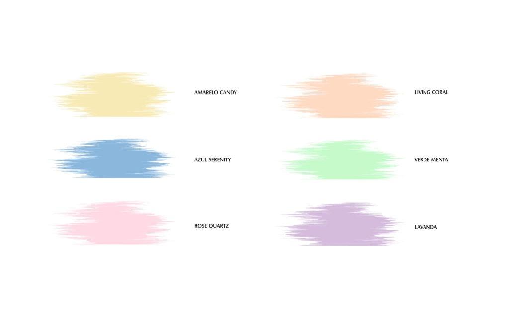 Paleta candy colors para madrinhas