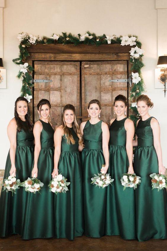 vestido verde para madrinhas