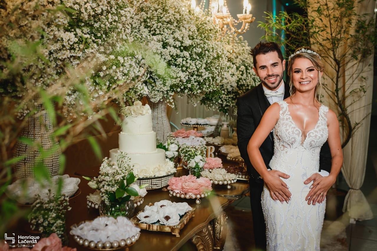 casamento em lagoa da prata Talita e Pablo - Foto Henrique Lacerda - Vestido Zephora Linha Premium