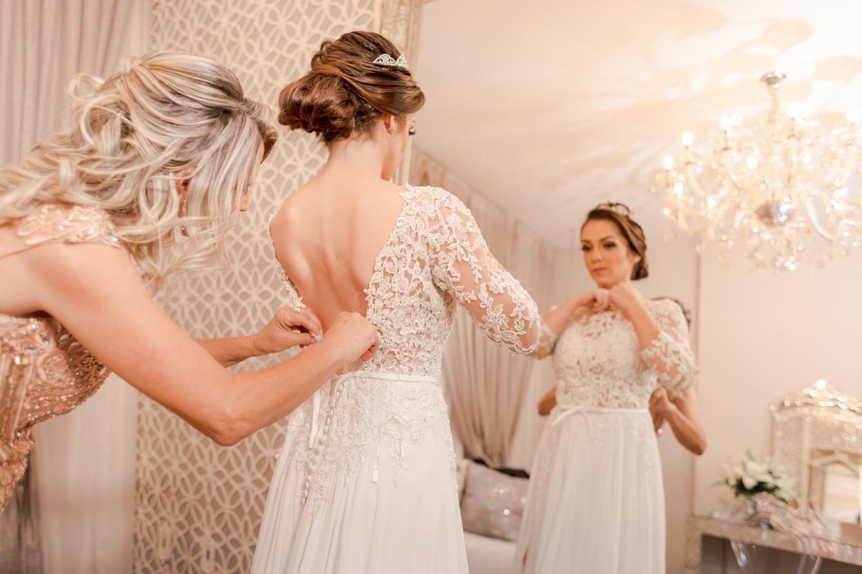 casamento em divinópolis Ana Flávia e André - Zephora Alta Costura - Foto Ale Caetano