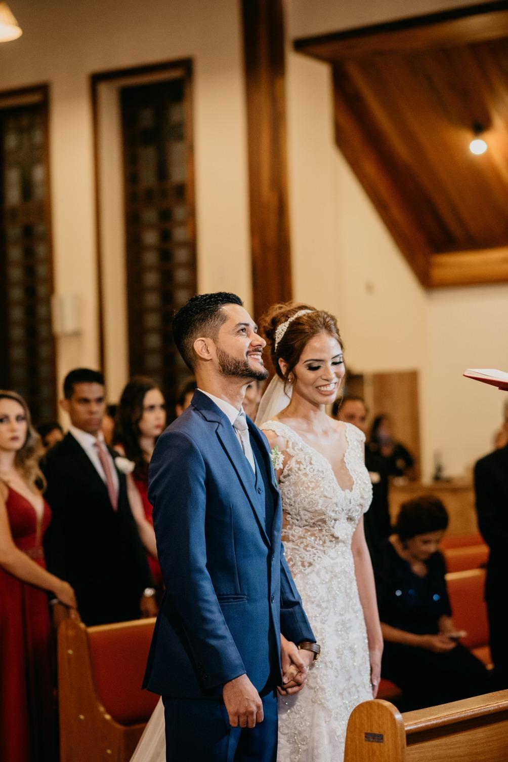 Casamento em Belo Horizonte de Raisa e Gustavo - Foto Alexandre Lizardo - Vestido Zephora Linha Premium