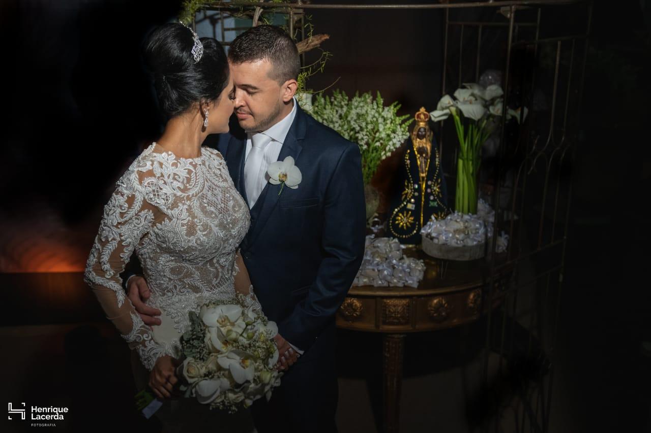 Casamento em Moema de Grasiela e Silas - foto Henrique Lacerda - Vestido Zephora Linha Premium